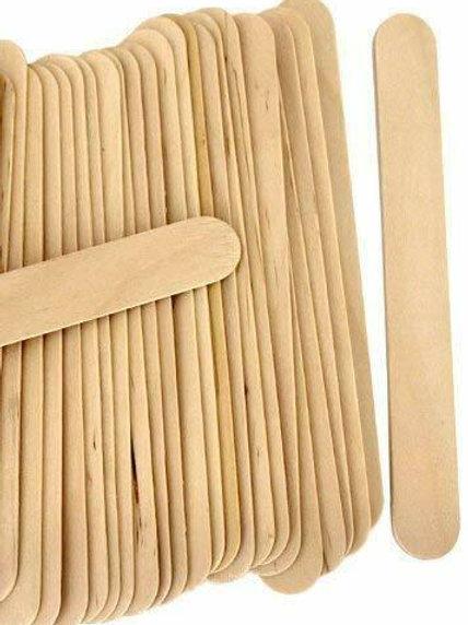 Extra Wide Mixing Sticks 15cm x 2cm (100pk)