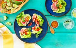 BLUE DRAGON Ahi Tuna Lettuce Wraps-FINAL