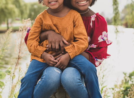 shania and shana at belle isle state park