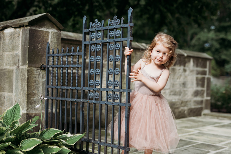 Outdoor Two Year Old Milestone Photography