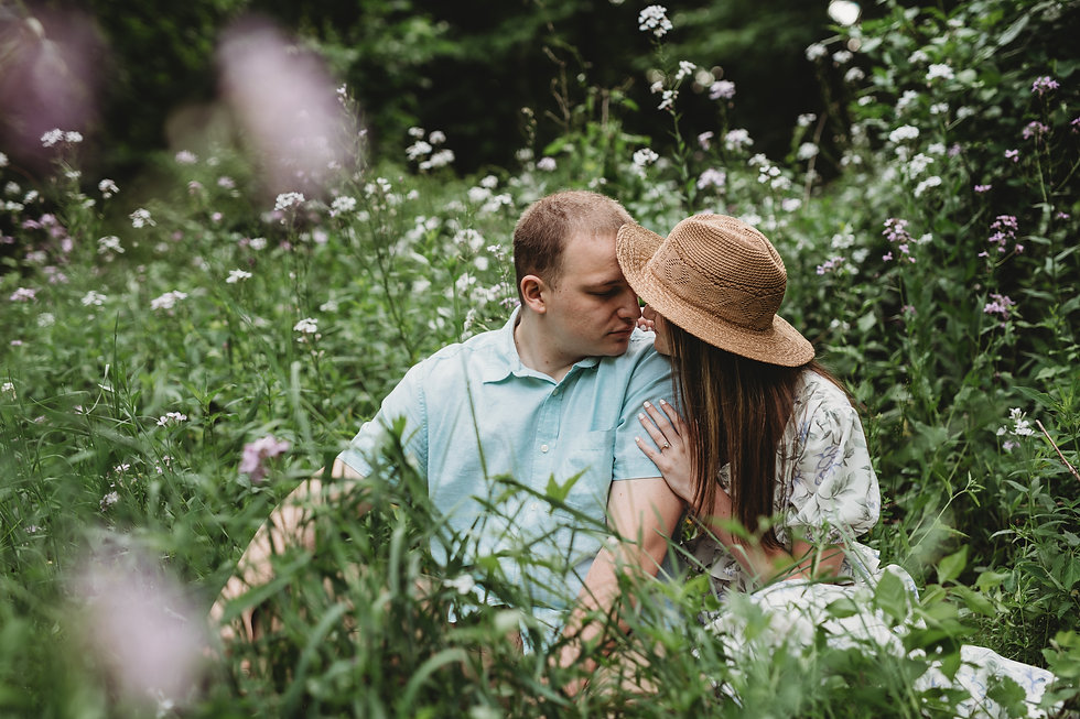 Outdoor Sunrise Engagement Photography