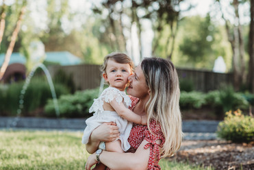 Outdoor One Year Old Milestone Photography