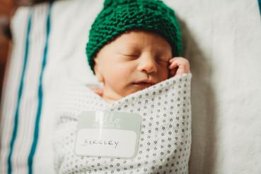 Fresh 48 Newborn Hospital Portrait Session