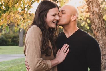 Fall Golden Hour Couples Photography