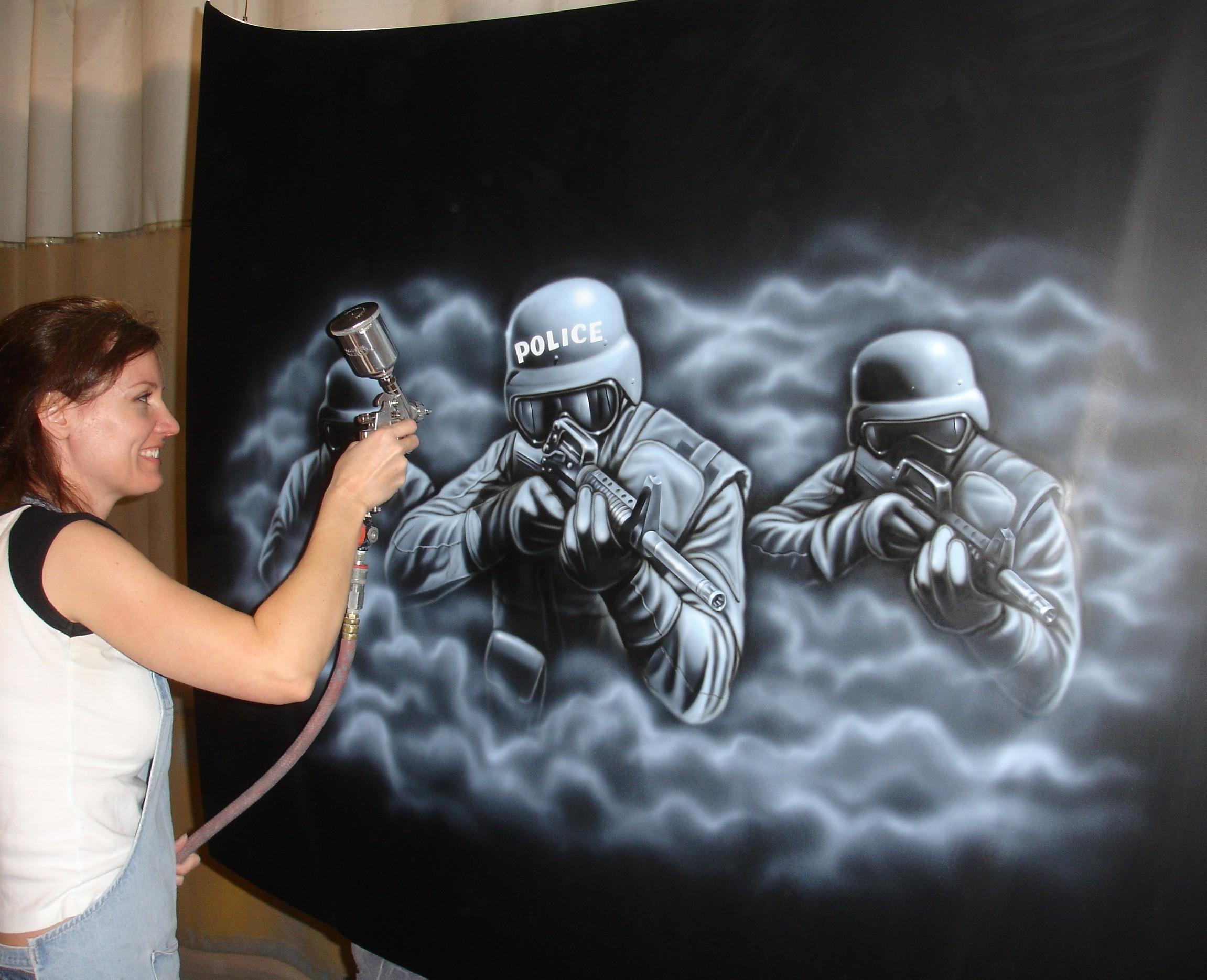 SWAT mural 2