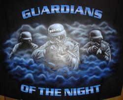 SWAT mural