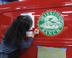 Painting Mission Ranch Logo