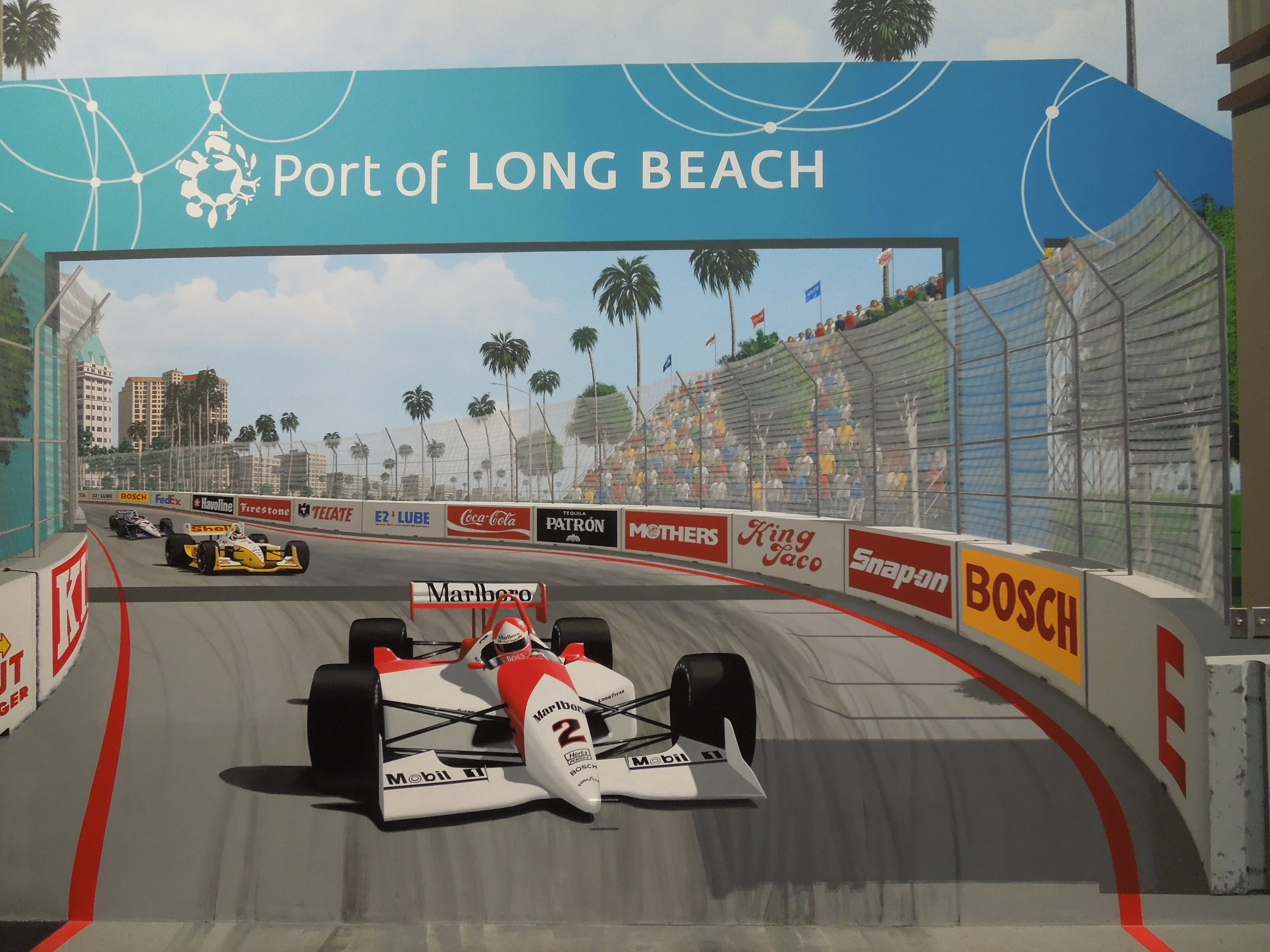 Long Beach GP Mural