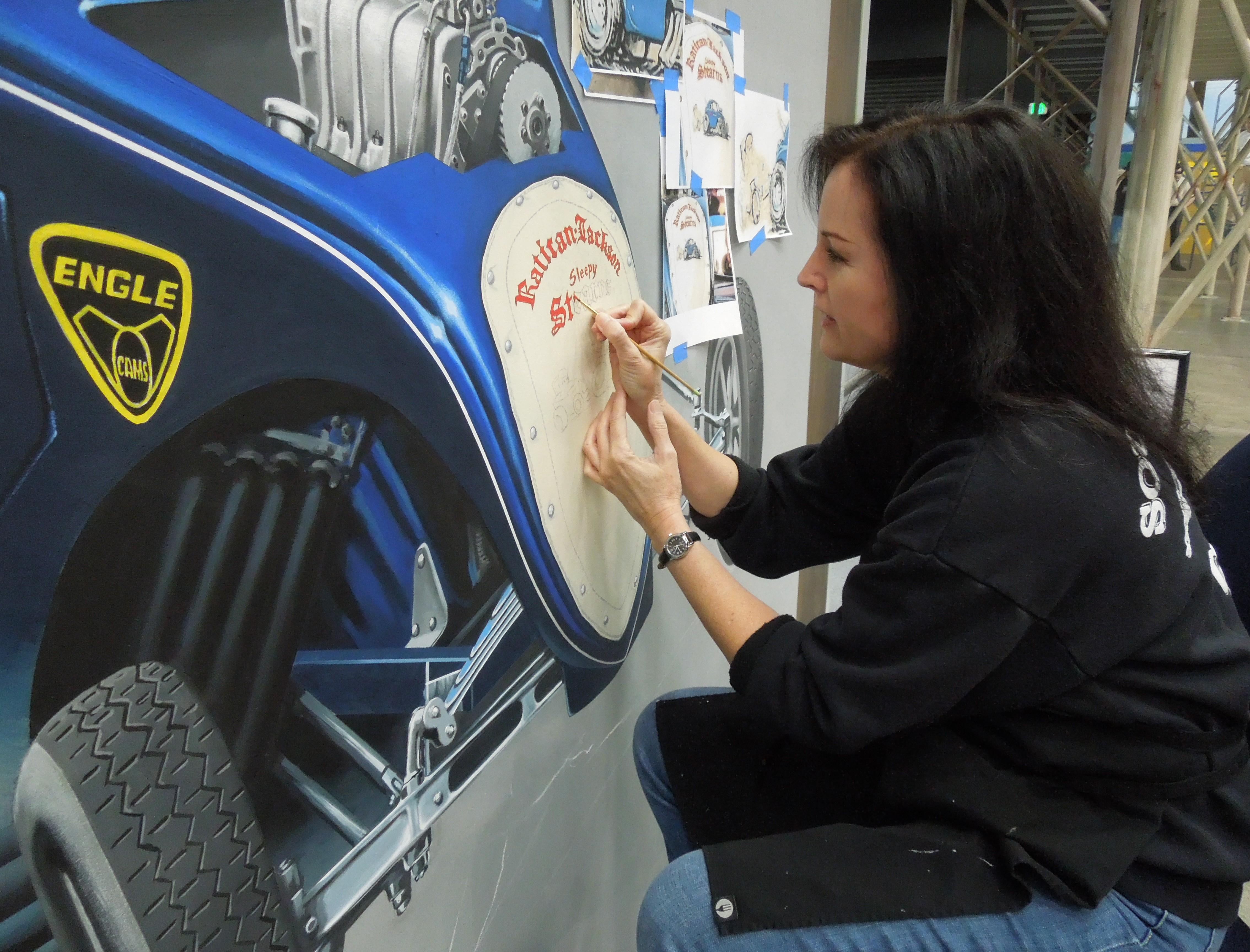 Automotive Mural
