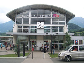 Transfert gare Albertville