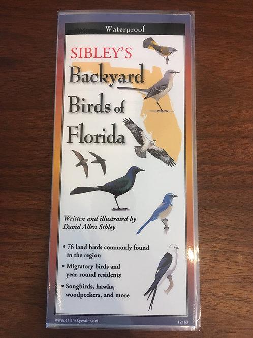 Sibley's Folding Bird Guide