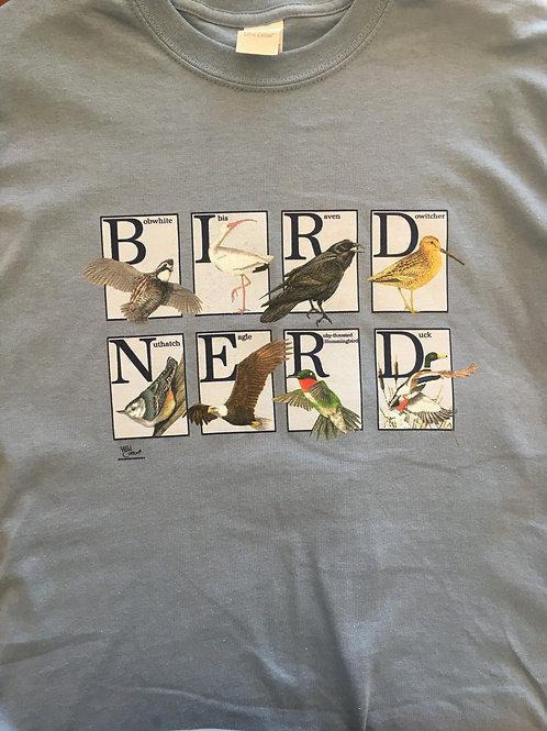 """""""Bird Nerd"""" T-Shirt"""
