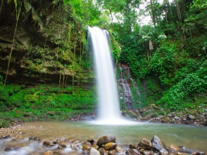 Beautiful-Mahua-Waterfall-Crocker-Range-