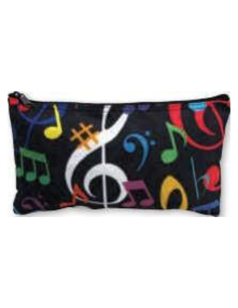 This small pouch can hold any small item, plus it looks cool with the various music notes on it.