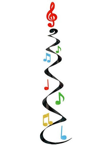 Music Whirl Decoration