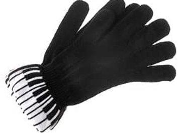 Gloves Keyboard Black