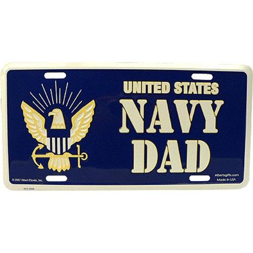 US NAVY DAD license plate
