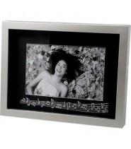 Silver Rhinestone  w/notes Frame