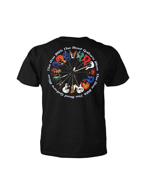 T-Shirt Most Guitars Wins