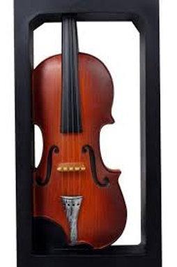 """Violin Shadow Box Wall Plaque 11.5"""""""