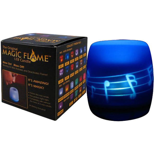 Why worry about lighting candles and how long they last, when you can have this LED candle that looks just like it's really lit.