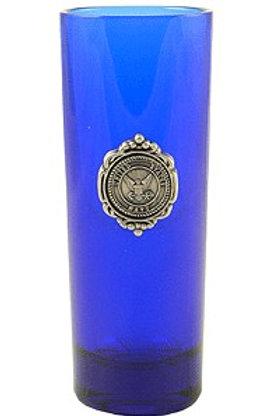 Navy Shooter Glass Blue