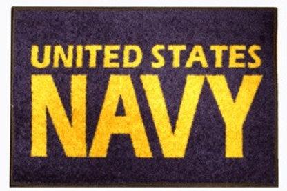 U.S. Navy Door Mat