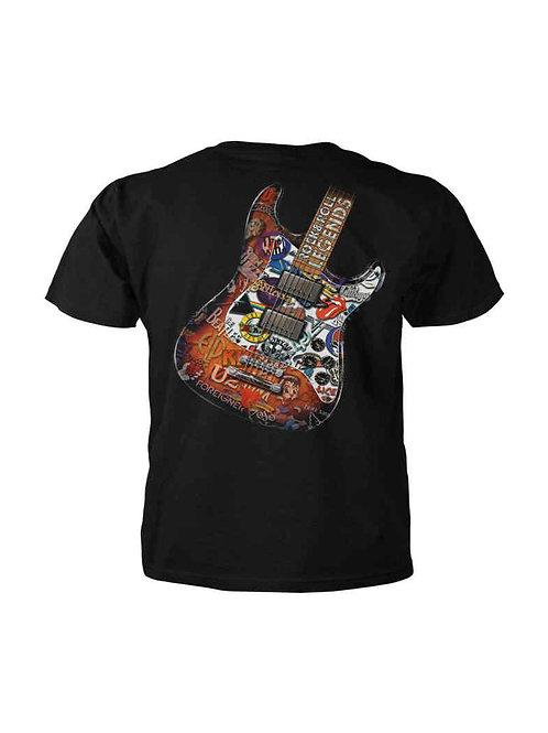 T-Shirt Rock & Roll Legends Black