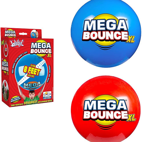 WICKED MEGA BOUNCE XL - THE WORLD'S BOUNCIEST INFLATABLE BALL!