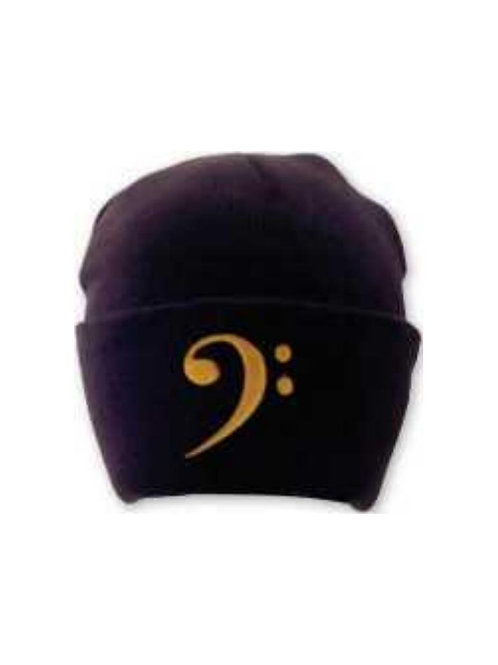 Bass Clef (Black) Winter Hat