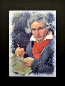 Beethoven Pop Art Poster