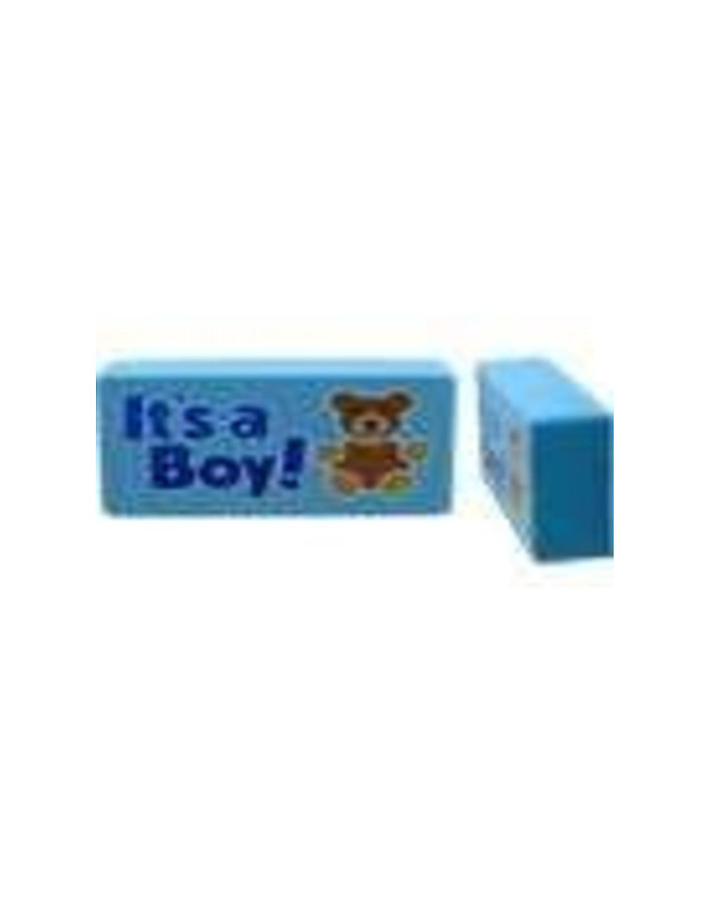 """This power magnet is 5""""x 2""""x1"""" and makes a great gift for a baby shower!"""