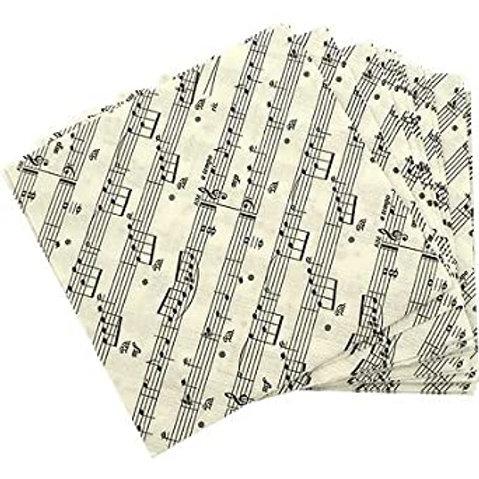 Sheet Music Beverage Napkins 20/per pack