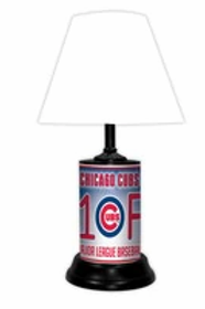 Chicago Cubs Fan Lamp White
