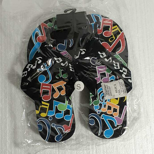 Flip Flop Multi Notes Size 7 Small