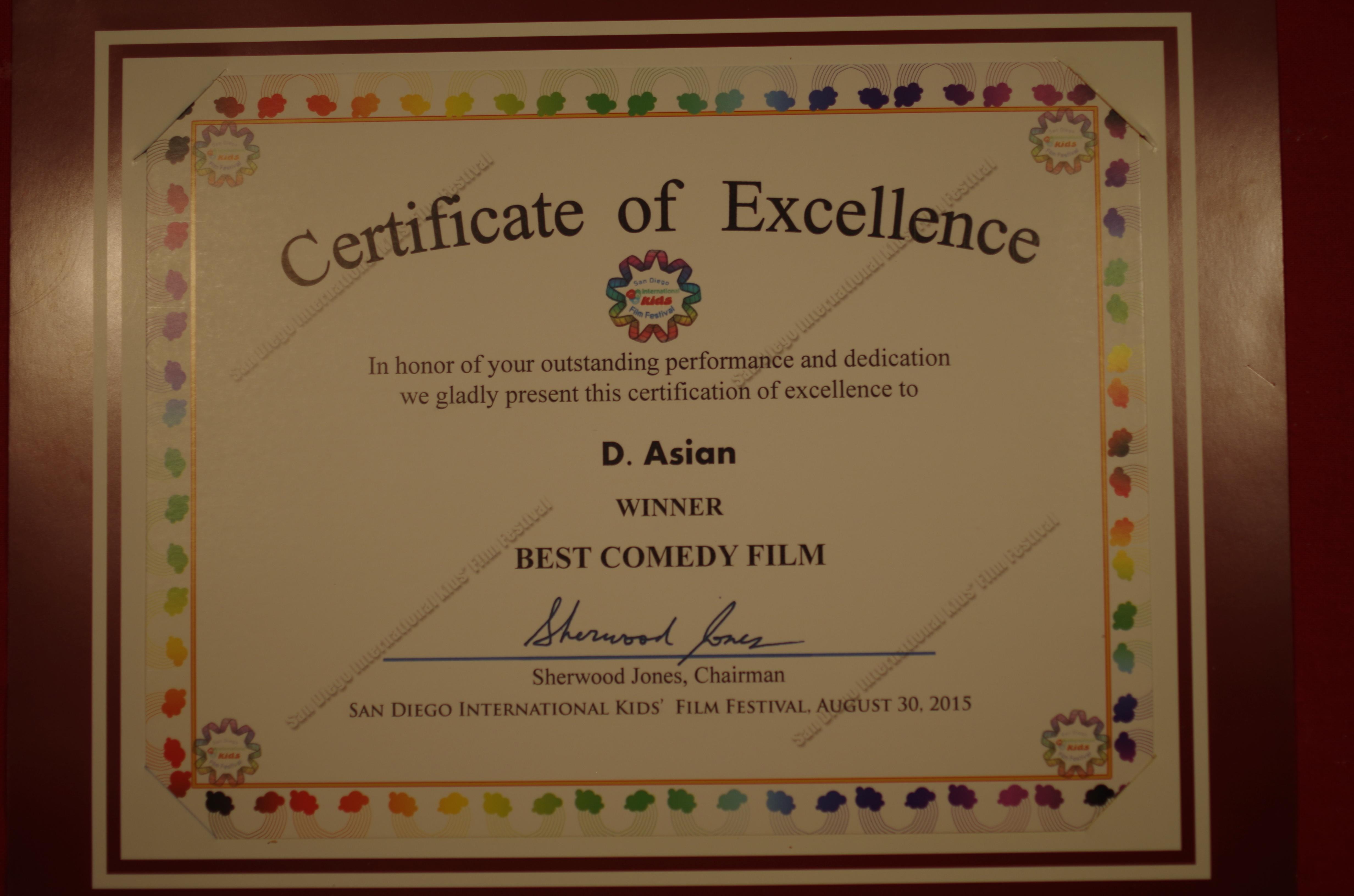 San Diego Int'l Kid's Film Festival