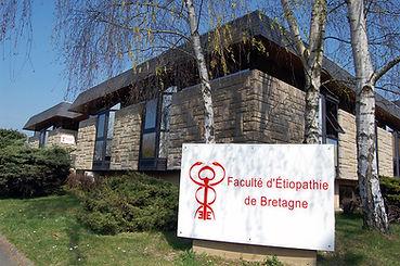 faculte d'etiopathie de Bretagne Rennes