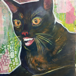 black smiling cat cheshire cat alice in wonderland