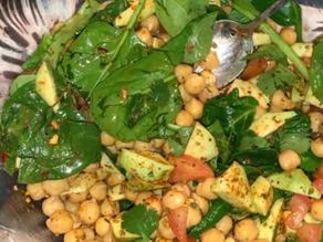 Chana Chaat (Tossed Chickpea Salad)