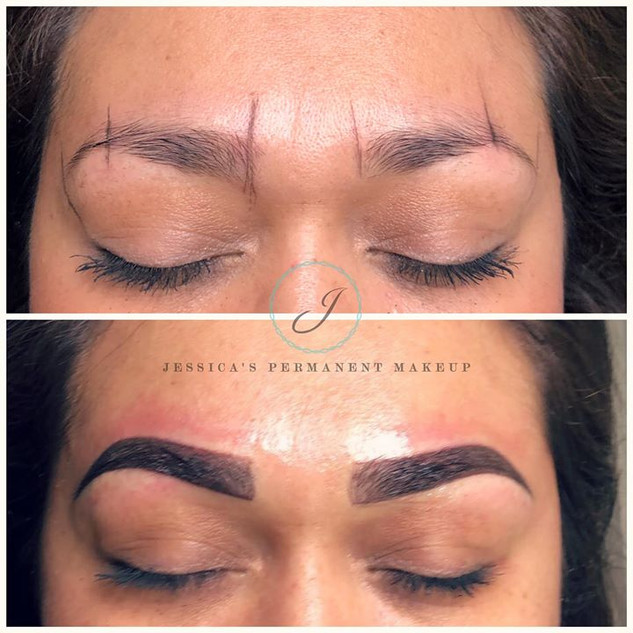 Beautiful Brow transformation can't wait