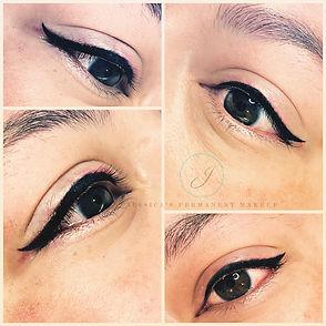 Beautiful gorgeous Eyeliner #WingingIt•♥