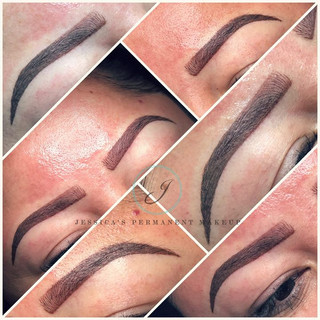 Absolutely love these brows 😍😍🤗🤗 loo