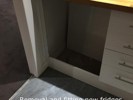 Integrated under counter fridge Glasgow