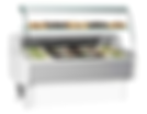 Refrigerated serveover counter
