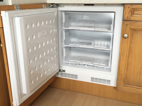 New Integrated freezer