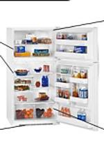 Domestic household fridge