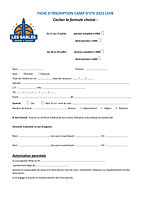 Fiche inscription LSVB camp basket 2021.