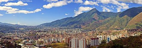 Caracas-Venezuela Mountain.