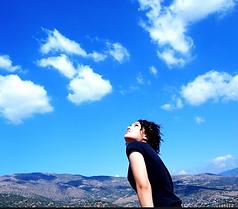 Yo veo el cielo.