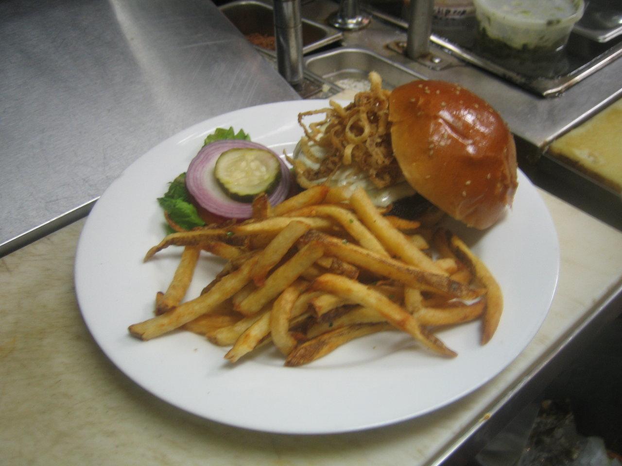 Blackened Cajun Burger